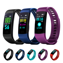 Wholesale Green Polish - Color Screen Smart Wristband Watch Smart Electronics Bracelet Waterproof Heart Rate Activity Fitness VS for Xiaomi Miband 2 M2