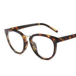 Wholesale finish designer - Luxury Brand Designer CE Elegant Round Frame Eye Glasses Frame 2666 Temple Rivets Smooth Finish Men Women Eyewear Small Face