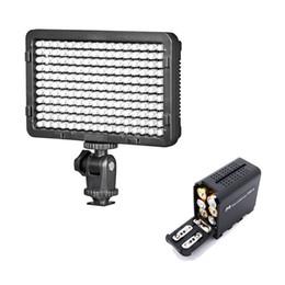 SETTO 176 LED Video Light Foto illuminazione su videocamera Video Hotshoe LED Lampada per Canon Nikon DV Camcorder DSLR Wedding da lampada da incasso a led fornitori