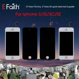 Canada Grade A + + + Tianma Qualité LCD Affichage Écran Tactile Digitizer Assemblée Complète Pour iPhone 5 5G 5S 5C Remplacement Pièces De Rechange Livraison Gratuite Offre