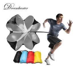 Wholesale Wholesale Resistance Parachutes - Outdoor Speed Resistance Training Parachute Running Parachute Umbrellas Chute Football Exercise Training Tool Accessories