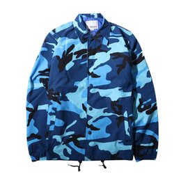 cfecef9b8bd military coat buttons Promo Codes - 2018 Casual Men S Jacket High Quality  Army Military Jacket Camouflage