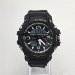 Wholesale Compass Watches Military - 2018 Top Quality Masculino Relogio GG1000 Compass Temp Outdoor Army Men's Sports Military All Functions SHOCK Resist Watch With original box
