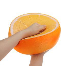 25CMSqueeze Giocattoli regalo Anguria arancione di alta qualità più dimensioni giocattolo morbido squishies jumbo lento aumento giocattolo per bambini collezione divertimento da