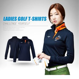 1944c66495b New Womens Golf Polo Shirts Long Sleeve Autumn Winter Golf Shirts Polo  Hombre Ladies Clothing Apparel Quick Dry