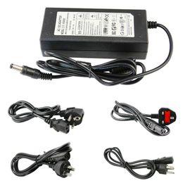 Wholesale Ce Camera - 100% 6A 72W 12V Transformer Adapter Charge For LED Strip Light CCTV Camera + 1.2m Cable With EU AU US UK Plug