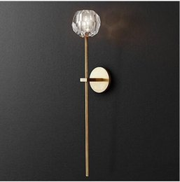 Vetrina per soggiorno online-vetrina Applique da parete a tubo lunga Luce per quadri a LED Postmodern Wall Lamp Italia Living Room Corridoio Luce da ingresso G9 Led Luminaire