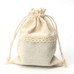 2019 sacos de organza de cetim por atacado Moda simples, puro laço de cor, saco, saco, cordão, bolso, 14cmX10cm