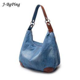 be138ef91c89 2019 Fashion 2018New Fashion Large Luxury Handbags Women Bag Designer Ladies  Hand bags Big Purses jeans bagTote Denim Shoulder Crossbody sac