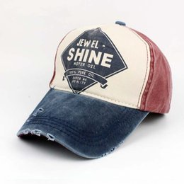 a02cf99d3 vintage trucker hats Promo Codes - New Arrival 100% Cotton Washed Baseball  Caps Fashion Street