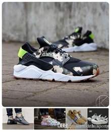 Wholesale High Sneakers For Women - 2016 New Design Huaraches Running Shoes For Women & Men, High Quality Air Huarache Famous Brand Custom Designer Sneakers 5.5-12 36-46