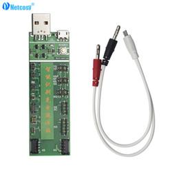 Circuito di carica della batteria online-Netcosy Professional Power Battery Charge Charge Charge con Micro USB Circuit Tester per 4/5 / SE / 6 / 6s / 6sPlus / 7