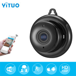Onvif ip mini telecamere online-HD 720P 1.0MP Wireless Mini WIFI di visione notturna intelligente di sicurezza domestica senza fili Wifi IP Camera Onvif Monitor Surveillance Baby Monitor yituo