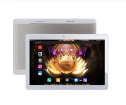 2019 dual os 4g tablette 10 Kern CPU Errichtet in 4G Tablette Android 7.0 OS 10 Zoll 1920X1200 Touch Screen Doppelkamera Wifi 10.1 Tablette PC + Geschenke rabatt dual os 4g tablette