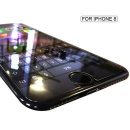 Protector de pantalla de vidrio templado transparente para Apple iPhone 6 6S 7 8 9 x 2.5D Protector de pantalla de película protectora delgada desde fabricantes