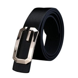 Wholesale Fancy Jeans - 2016 belt men Imitation leather luxury strap male belts for men buckle fancy vintage jeans cintos masculinos ceinture homme #OR