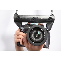 Fotoğraf Kamera için Su Geçirmez Kuru Çanta Sualtı Dalış Konut Case Kılıfı Yüzme Çantası Kamera nereden