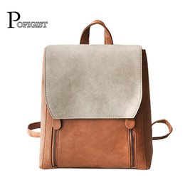 f233066c41ce POPIGIST brand design fashion women s Backpacks Shoulder Bag SchoolBags  college students Casual leather Backpack