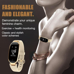 Wholesale Ladies Outdoor Watches - S3 sport watches Bluetooth Waterproof Smart Watch Fashion Women Ladies Heart Rate Monitor Fitness Tracker Smartwatch for Android IOS