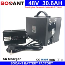 Wholesale Bicycle Motors - BOOANT E-Bike Battery 48V 30AH For Bafang 1400W Motor with Metal Box Electric Bicycle Battery free Duty to EU US with 5A Charger