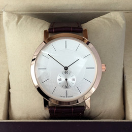 Wholesale Fashion Brands For Women - High quality Hot Sale Fashion women man genuine leather watch luxury samous Brand male  female clock for lovers wholesales retail wristwatch