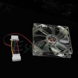 Wholesale Blue Led Fan Case - 1pcs 120mm Fans 4 LED Blue cooler for Computer PC Case cool Cooling