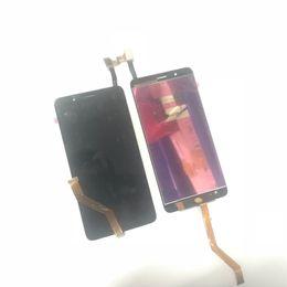 Toque la cuchilla online-Piezas originales de la asamblea del digitizador de la pantalla LCD táctil para ZTE Blade Z Max Z982 negro