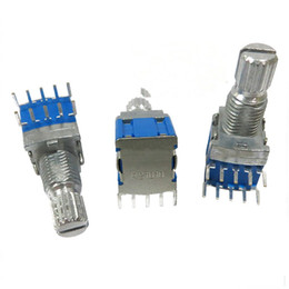 rotary files Promo Codes - THGS 4 pcs silver + blue metal RS1010 band switch rotary switch gear change 2 knife 4 files 2.7*2*1cm