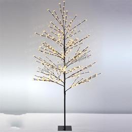 Ha portato gli alberi di simulazione online-Simulazione di luce artificiale impermeabile Plum Tree Cherry Lamp Decorazione famiglia di nozze Creative Indoor o Outdoor Use Lights 75ty jj
