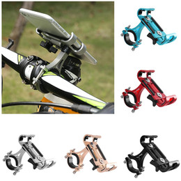 2019 suportes móveis para ciclo MTB Ciclismo Road Bike Phone Holder Liga de Alumínio de 360 Graus de Rotação Da Bicicleta Do Telefone Móvel Titular desconto suportes móveis para ciclo
