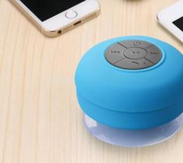Wholesale Cars Shower - Mini portable low-speaker box shower waterproof wireless bluetooth speaker car hands-free answer phone music absorption microphone