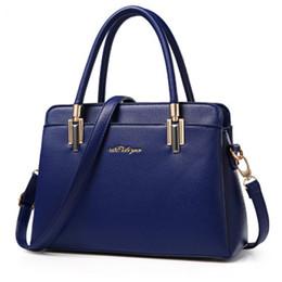 корейская сумочка красного цвета Скидка Women Bag Designer New Fashion Casual women's handbags  shoulder bag high quality PU 2018 Korean Style Large capacity red