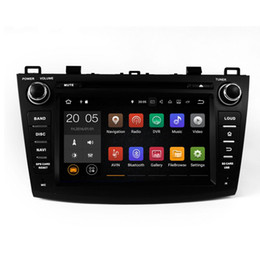 Wholesale Dvd Player For Mazda - Android 6.0 7.1 4GB Ram 32GB Rom Car DVD Player GPS Navigation for Mazda 3 2009-2012 with Radio BT USB AUX Canbus Camera