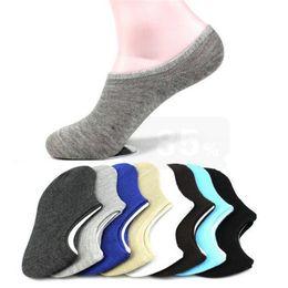 Canada 7 Paires Chaussettes pour Femmes Chaussettes Courtes Low Cut Cheville Anti-dérapant Absorber Sweat Pantoufles Chaussettes Invisibles Pour Femmes / Hommes Offre