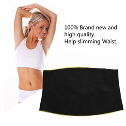 Wholesale Healthy Loss - Women Adult Solid Neoprene Healthy Slimming Weight Loss Waist Belts Body Shaper Slimming Trainer Trimmer Corsets dropshipping