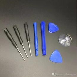 Novo 8 em 1 Reparação Abertura Pry Ferramentas Kit Set com 5 Pontos Estrela Pentalobe para iPhone 5 5s 6 Plus 7 livre de