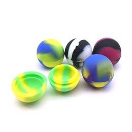 Palo del ego online-Fedex Free eGO Envase de bola de silicona antiadherente Bola de silicona para cera Bho Vaporizador de aceite Frascos de silicio Contenedor de cera Dab Cigarrillo electrónico