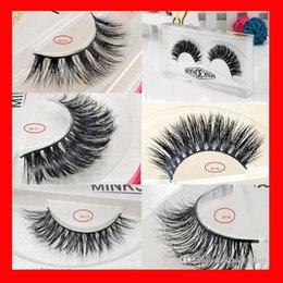 Wholesale 3d Eyelash Extensions Wholesale - 15styles 3D Mink False Eyelashes makeup 100% Real Mink Natural Thick False Fake Eyelashes Eye Lashes Makeup Extension Beauty Tools