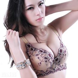 Wholesale Brassiere Cup Size - Bra 2 Colors bras for women underwear casual push up bra brassiere sutian plus size sutia adesivo bralette women sexy bra b45