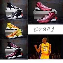 b578b0043c39f Adidas crazy byw LVL I boost Basketball shoes Kobe Bryant boots 2018 vendita  calda Crazy BYW 1 Pharrell Williams x Boost Woven scarpe casual per la moda  di ...