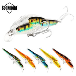 Wholesale live bait fishing - Multi-fish Minnow Laser Live Target Fishing lure 78mm 10.2g Shallow Diving Wobblers Artificial swimbaits Realistic Lure