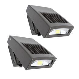 versteckendes design Rabatt 30W LED-Wand-Satz-Licht-dünner Entwurfs-justierbarer Kopf 5000K 200W HPS / HID-Ersatz-Außenwandlampen LED-Sicherheits-Flutlicht-Bereichs-Licht