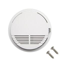 Canada Détecteur de fumée sans fil blanc avec capteur d'alarme d'alarme incendie stable à piles de 9 V à haute sensibilité, adapté à la détection de la sécurité de la maison Offre