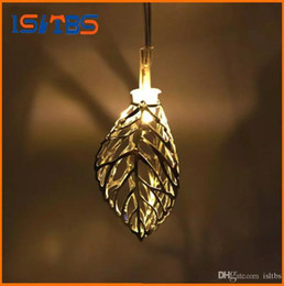 Wholesale Leaf Light String - 1.65M Mini 10 led Leaf String Lights Battery Christmas New Year Party Wedding Home Decoration Fairy Lights