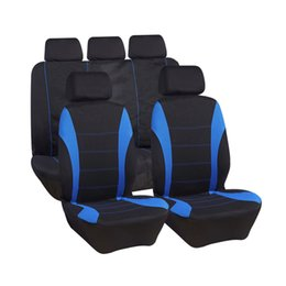 Wholesale Automobile Brands - wholesale Automobiles Seat Covers Full Car Seat Cover Interior Accessories Seat Protector Cover Universal Fit Most Brand Vehicle