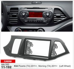 Wholesale Car Stereo Fascia - CARAV 11-192 Car Radio Fascia for KIA Picanto (TA), Morning (TA)(Left wheel) Stereo Dash Facia Trim Surround CD Installation Kit