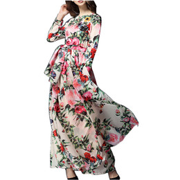 eacc6649ec0c Sherhure 2018 Women Linen Cotton Long Skirts Elastic Waist Pleated Maxi  Skirts Beach Boho Vintage Summer Skirts Faldas Saia