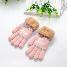 61f78638c2f Enfant en bas âge bébé mignon épaississement fauve filles garçons garçons  de gants chauds d hiver pour nouveau-nés enfants bébé mitaines gants 2018 10