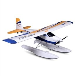 Wholesale Control Floats - FMS 1220MM Wingspan Super EZ V2 Trainer EPO Airplane With Floats RTF 2.4GHz RC Radio Control Model