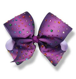 gifts for teens girls Promo Codes - 8Inch JoJo Siwa Headbow with Diamond Deco Girls Hairbow hairband for teens gifts for kids Multi color